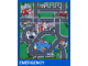 Gear No: 2729b  Name: Playmat, LEGO City - Emergency