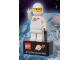 Gear No: 2855028  Name: Magnet Set, Minifigure Classic Space White Figure - with '...in space since 1978' Base