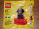 Gear No: 2855045  Name: Magnet Set, Minifigure Fire Chief - with 2 x 4 Brick Base (Bricktober Week 3) polybag