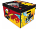 Gear No: 2856200  Name: ZipBin City Fire Toy Box & Playmat