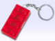 Gear No: 3917  Name: 2 x 4 Brick - Red Key Chain