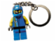 Gear No: 3945  Name: Drome Racer Key Chain with Open Mouth Head and LEGO Logo on Torso