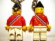 Gear No: 3977b  Name: Legoland Ambassador Key Chain - Stripes on Back