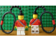 Gear No: 3977c  Name: Legoland Ambassador Key Chain - plastic chain, with stripes on back