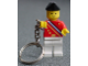 Gear No: 3977d  Name: Legoland Ambassador Key Chain - old type with stripes on back - Chain Attached to Right Wrist