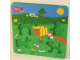 Gear No: 3DPuzBoard  Name: Duplo Puzzle 3D Animals Foam Board