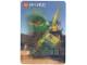 Gear No: 3Dcardnjo02  Name: Ninjago 3D Lenticular Card 2019 Lloyd