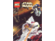 Gear No: 4178293  Name: Postcard - Star Wars Set 7143 Jedi Starfighter & 7153 Jango Fett's Slave I