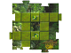 Gear No: 4189443pb04  Name: Orient Gameboard Square - Jungle 4