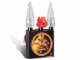 Gear No: 4193353  Name: Clock Set, Bionicle Tahu Nuva