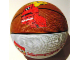 Gear No: 4202554  Name: Ball, Inflatable Basketball, Mini (5 in. dia.) - LEGO Sports and Slam Dunking Minifigure Pattern