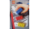 Gear No: 4202675  Name: Eraser, LEGO Brick Set of 3 (Red, Yellow & Blue) blister pack