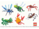 Gear No: 4206017  Name: Sticker Sheet, Designer Wild Collection images, 6 on 21cm x 15cm sheet