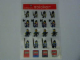 Gear No: 4222256  Name: Sticker, Minifigures Sheet, Castle