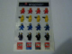 Gear No: 4222258  Name: Sticker, Minifigures Sheet, Classic Space