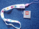 Gear No: 4226684  Name: Lanyard with Clikits Stars, Flowers & Hearts Pattern