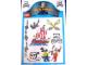 Gear No: 4226745  Name: Sticker Sheet, Pirates Sheet of 9