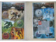 Gear No: 4228297  Name: Sticker Sheet, Bionicle Toa range, set of 2 sheets, images of sets 8601 to 8606