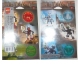 Gear No: 4228303  Name: Sticker, Bionicle Metru Nui Matoran, set of 2 sheets, images of sets 8607 to 8612