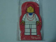 Gear No: 4229627  Name: Memo Pad Minifigure - (Q) Necklace Red