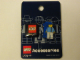 Gear No: 4244714  Name: Pin, Minifigure - Sport (Blue) Skater with Skateboard