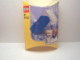 Gear No: 4251258  Name: Eraser, LEGO Brick Eraser Set of 2 (Blue, White)