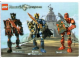 Gear No: 4259582  Name: Sticker, Knights Kingdom II (set 8809) Vladek, King Mathias, Santis