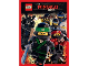 Gear No: 4260117910821  Name: Sticker, The LEGO Ninjago Movie, Pack of 5