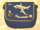 Gear No: 4266360  Name: Messenger Bag, ANA Promotional with Airplane Pattern