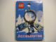 Gear No: 4271449  Name: Minifigures Metal Key Chain - Arctic Valentine 2005 (Blue Hearts)