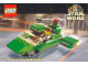 Gear No: 4323348  Name: Postcard - Star Wars Set 7124 Flash Speeder