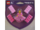 Gear No: 4494729  Name: Magnet Set, Minifigure Princess with Cloth Skirt with Four Bricks 2 x 4 blister pack