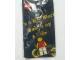 Gear No: 4503043  Name: Girl Minifigure Flat Metal Key Chain