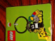 Gear No: 4503054  Name: Fabuland Minifigures Metal Key Chain Bear 3 and Parrot