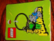 Gear No: 4503055  Name: Fabuland Minifigures Metal Key Chain Crocodile 1 and Elephant 1