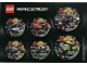 Gear No: 4509155  Name: Sticker, Racers Sheet - 2007 Lego Club Exclusive