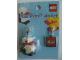 Gear No: 4519072  Name: Mini Key Chain Set - TPTC Japan, Penguin and LEGO Logo