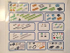Gear No: 45300stk01a  Name: Sticker Sheet for Storage Tray of Set 45300 - (6138763)