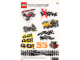 Gear No: 4530146  Name: Sticker, Racers Theme, Sheet of 10