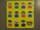 Gear No: 4538528  Name: Towel, Lego Duplo Family 25 x 25 cm, Yellow