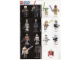 Gear No: 4548339  Name: Star Wars 2009 Minifigure Gallery Poster, World Club Magazine