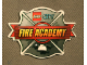 Gear No: 4586608  Name: Sticker, Lego City Fire Academy Badge, 3D