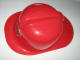 Gear No: 4593676  Name: Headgear, Fire Helmet Red, Fire Academy Logo - Flexible Plastic
