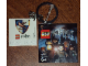 Gear No: 4599520  Name: 4 x 4 Tile, Modified - Key Chain with HP Ravenclaw Crest Pattern (Sticker)