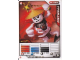 Gear No: 4612921  Name: Ninjago Masters of Spinjitzu Deck #1 Game Card 4 - Frakjaw - International Version