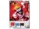 Gear No: 4621814  Name: Ninjago Masters of Spinjitzu Deck #1 Game Card 4 - Frakjaw - North American Version