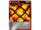 Gear No: 4621818  Name: Ninjago Masters of Spinjitzu Deck #1 Game Card 23 - Flame Pit - North American Version