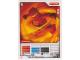 Gear No: 4621819  Name: Ninjago Masters of Spinjitzu Deck #1 Game Card 1 - Kai - North American Version