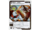 Gear No: 4621835  Name: Ninjago Masters of Spinjitzu Deck #1 Game Card 70 - Rock Block - North American Version