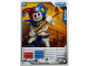 Gear No: 4621844  Name: Ninjago Masters of Spinjitzu Deck #1 Game Card 6 - Krazi - North American Version